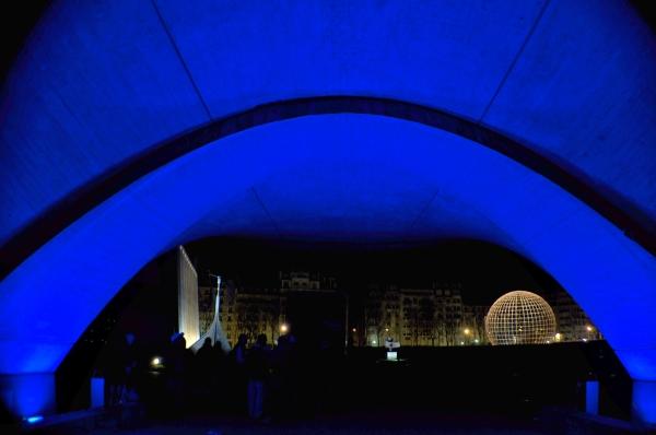 Voûte Bleue à l'Unesco